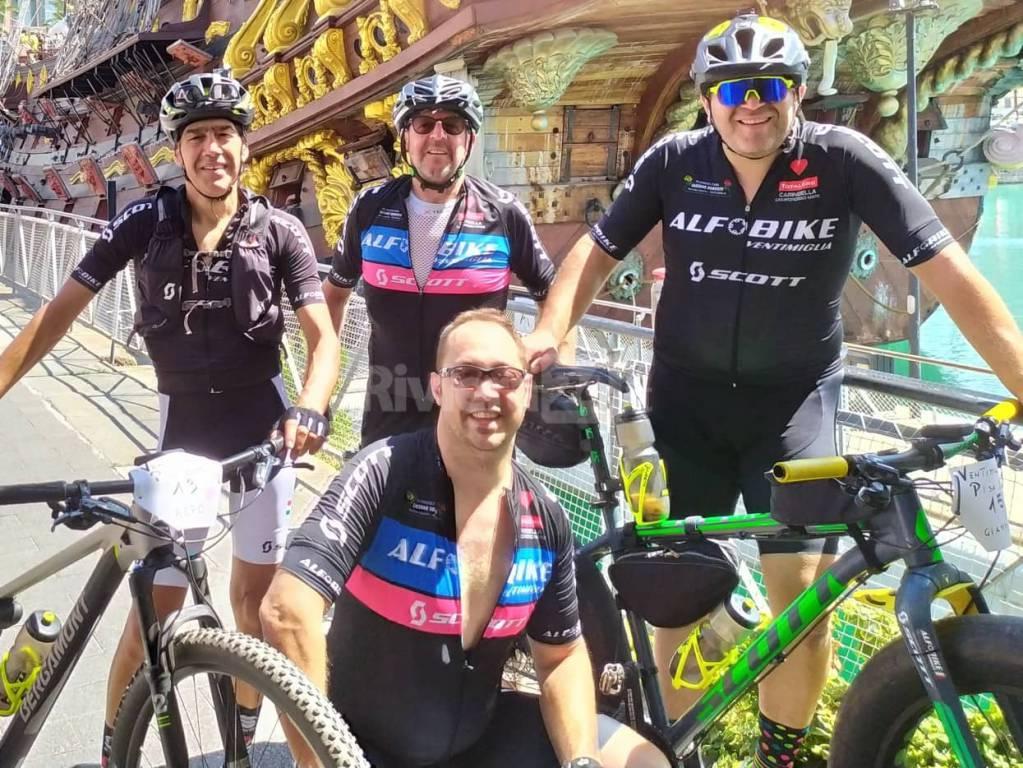 XXMiglia-Pisa in bici, Alfonso & Co