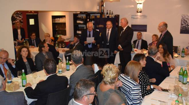 Fernando Franceschelli ingresso Lions Club Capo Nero Host