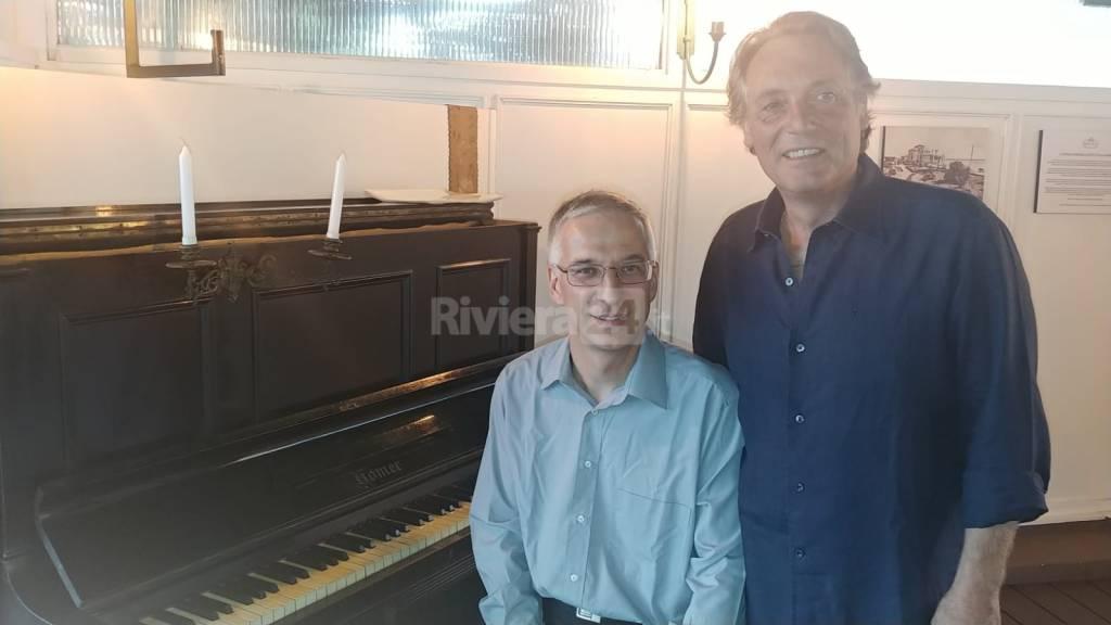 Inaugurazione pianoforte Kursaal