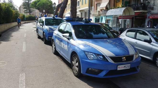 polizia commissariato pista ciclabile sanremo