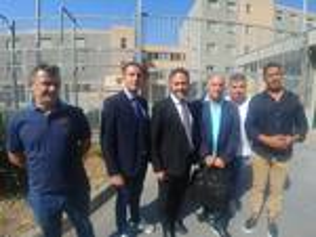 riviera 24 - piana lorenzo visita carcere sanremo