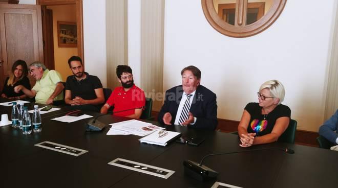 Riviera24- conferenza stampa olioliva