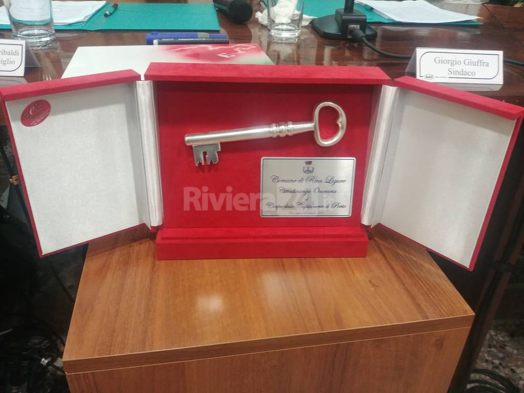 Riviera24- consiglio comunale solenne di Riva Ligure