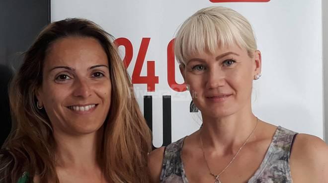 riviera24 - Elena Tishkina e Laura Sichetti