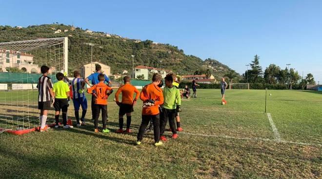 riviera24 - Taggia Calcio portieri del settore giovanile