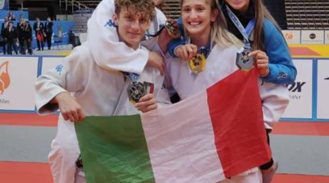 Giovane Imperiese ai mondiali di judo
