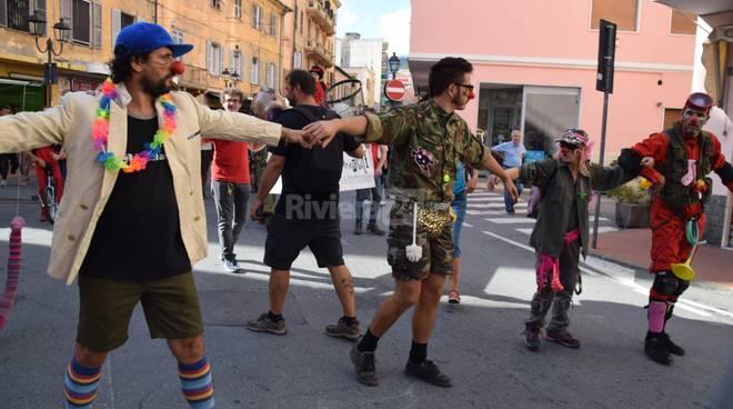 Parata no borders Ventimiglia