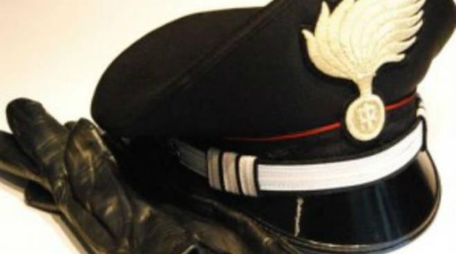 riviera24 - carabiniere cappello lutto