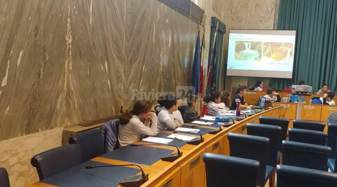 riviera24 - Consiglio comunale dei ragazzi Imperia