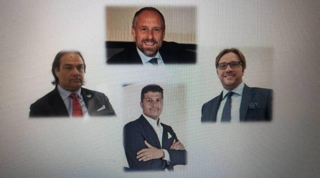 riviera24 - Daniele Ventimiglia, Sergio Tommasini, Luca Lombardi e Simone Baggioli