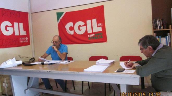 riviera24 - Direttivo dello Spi-Cgil con Enrico Torelli