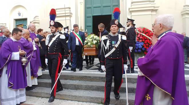 riviera24 - Funerali carabiniere Antonio Zappatore