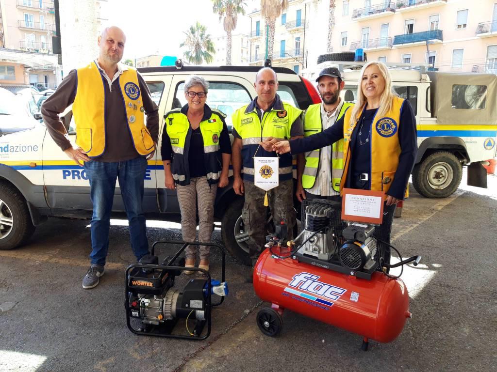 Riviera24- protezione civile vallecrosia