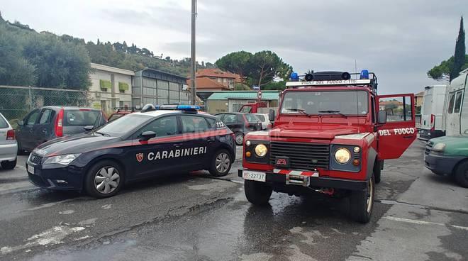riviera24 - Vigili del fuoco e carabinieri