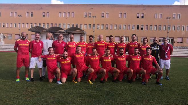 riviera24 - Vigili del fuoco calcio