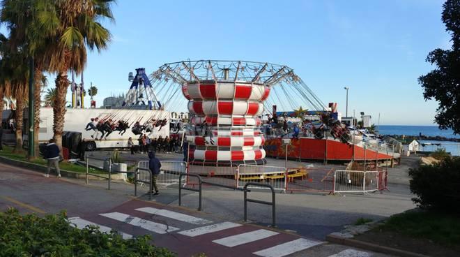 Apre il Luna Park dei Fiori