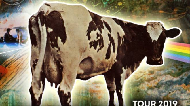 PINK FLOYD LEGEND ATOM HEART MOTHER  tour 2019 in concerto a Sanremo Teatro Ariston 5 Dicembre 2019