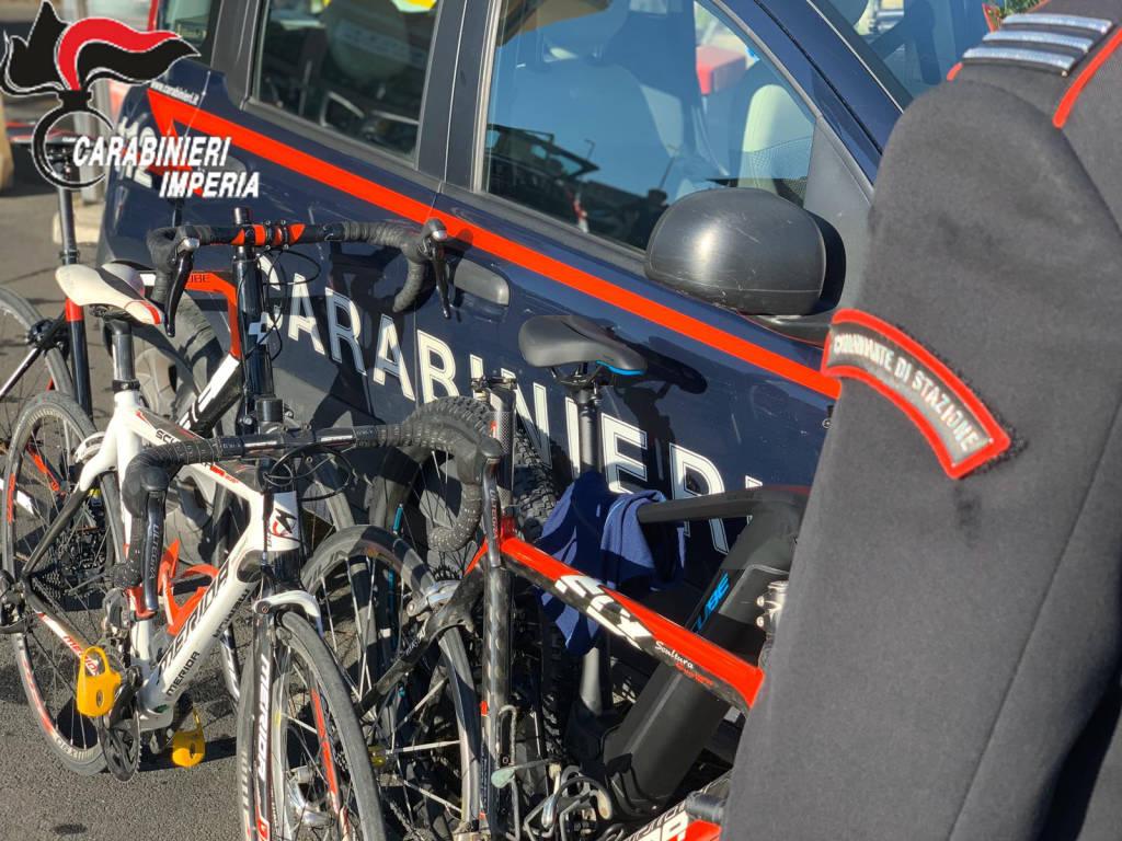 ladri bici carabinieri