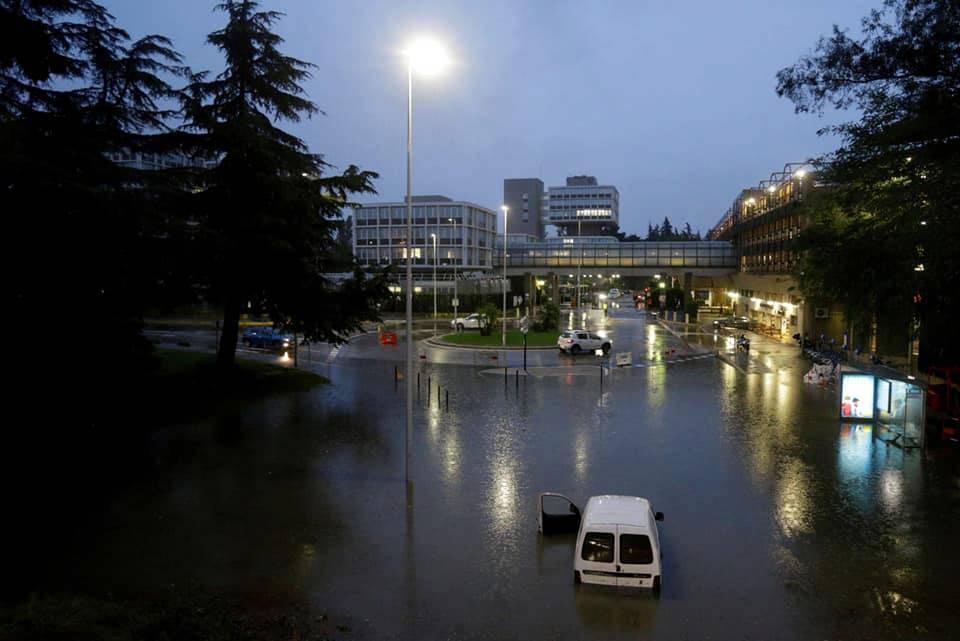 riviera24 - alluvione maltempo nizza