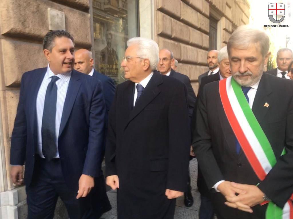 riviera24 -  Giovanni Toti e Mattarella