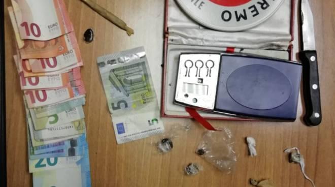 Sanremo, la municipale arresta spacciatore di hashish - Riviera24