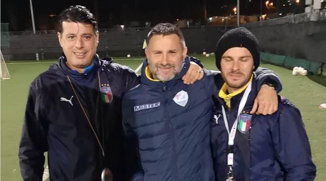 riviera24 - Marco Dessì con Fabio Coccoluto e Mattia Perilli