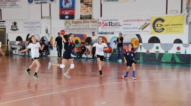 riviera24 - Team Schiavetti Pallamano Imperia under 15 femminile
