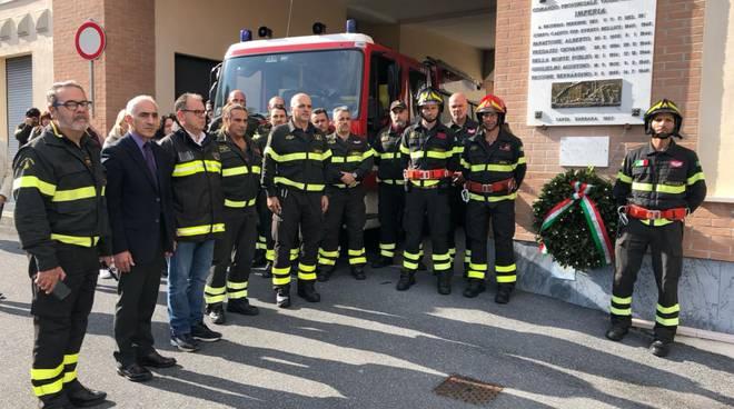 riviera24 - vigili del fuoco schierati
