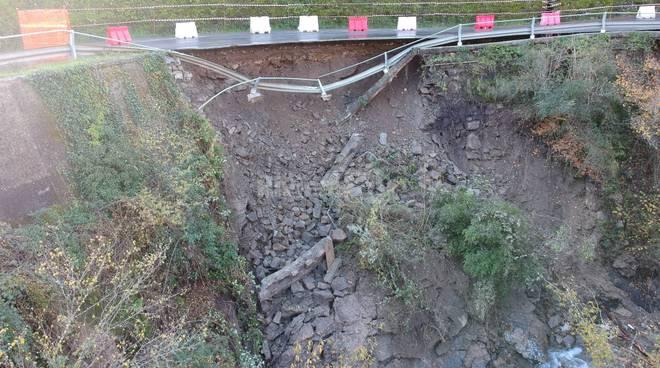 Rocchetta Nervina, mesi di lavori per riaprire la strada provinciale franata