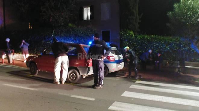 Vallecrosia, donna investita da un'auto sulle strisce in via Giovanni XXIII