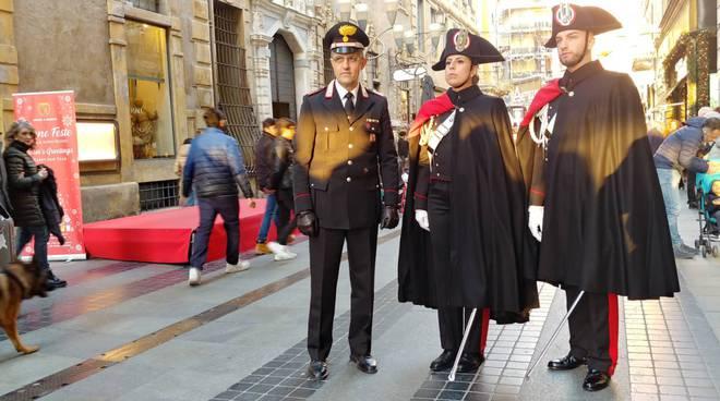 carabinieri alta uniforme sanremo