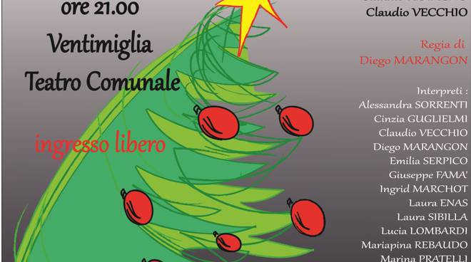 "Con LIBER theatrum ""Natale con i tuoi ...THE DAY AFTER XMAS... con noi\"" al teatro Comunale di Ventimiglia"