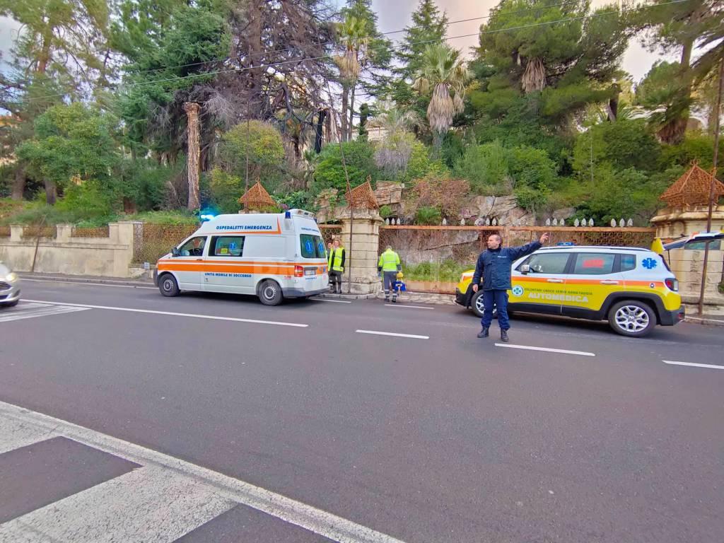 incidente mortale ospedaletti comandante dei vigili