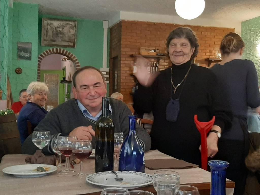 Pranzo anziani Castelvittorio