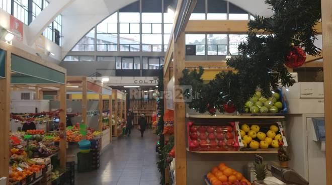 riviera24 - Natale 2019 al mercato annonario di Sanremo