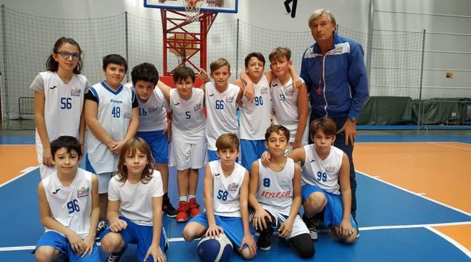riviera24 - Sea Basket Sanremo esordienti 2008