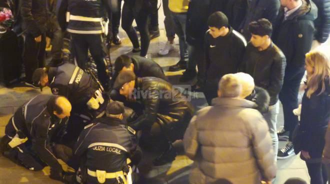 Giovane straniero fermato da Municipale a Sanremo