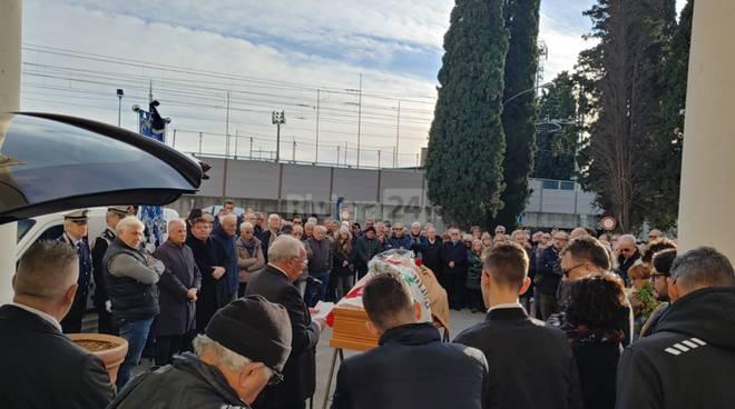 I funerali del senatore Nedo Canetti