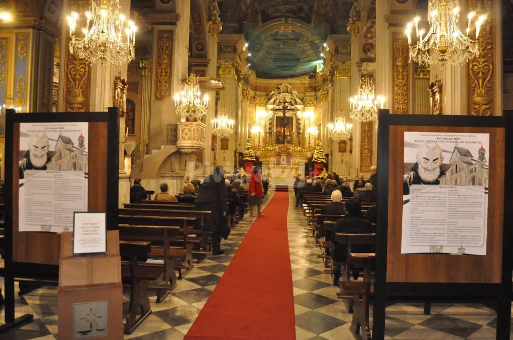 Imperia, in San Giovanni la reliquia di Padre Pio