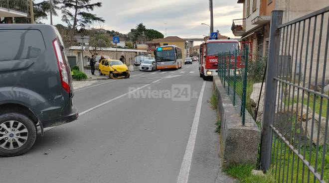 Imperia, incidente in Caramagna