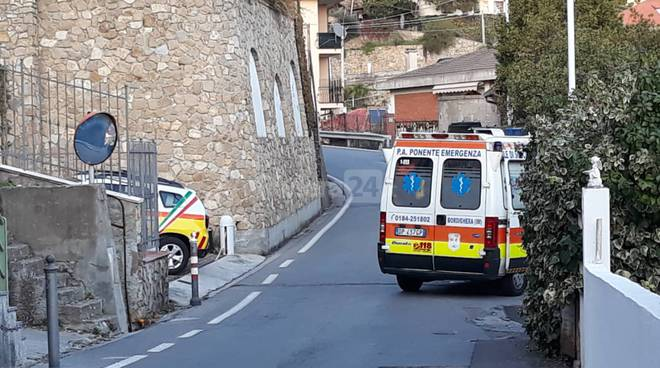 incidente vallebona ponente emergenza