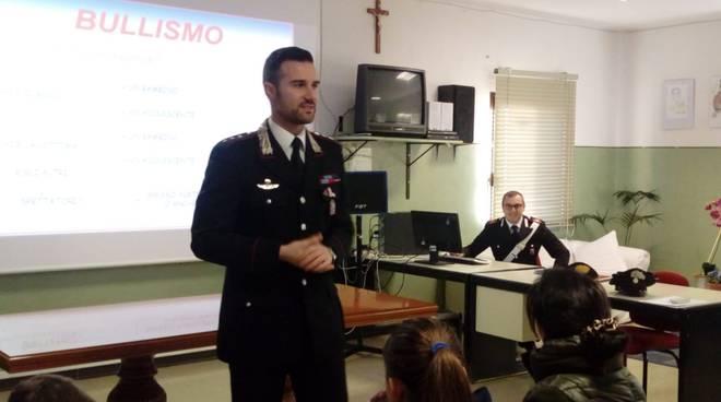 lezione bullismo carabinieri