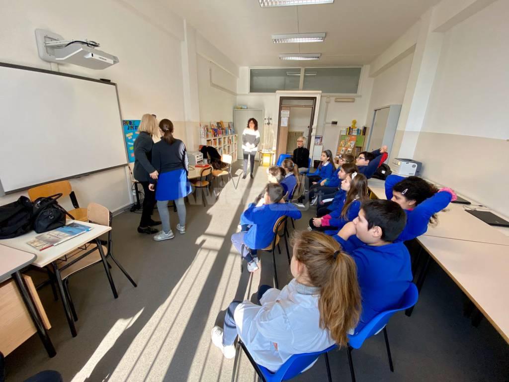 Lezione sull'Olocausto alla scuola Rubino