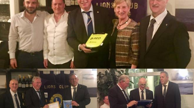 Lions club Bordighera Caponero host