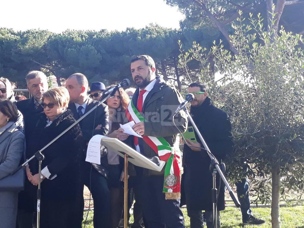 riviera24 - Giornata della Memoria a Vallecrosia