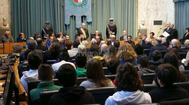 riviera24 - Giorno della Memoria a Imperia