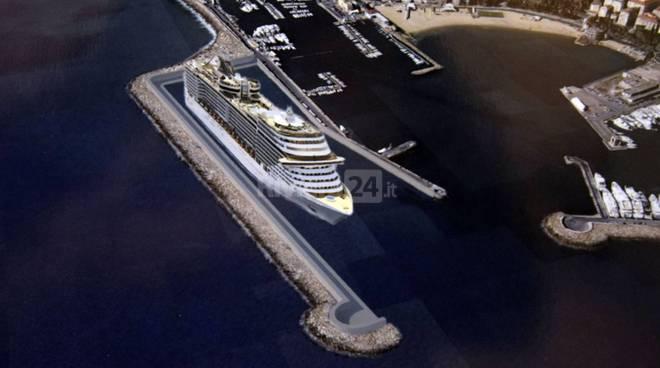 riviera24 - Progetto terminal crociere per il Porto Vecchio di Sanremo