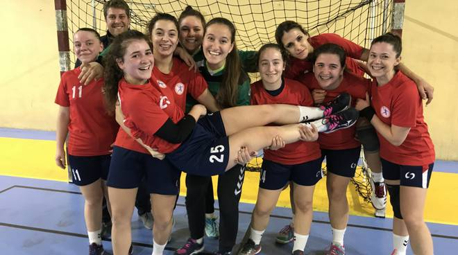 riviera24 - Team Schiavetti Pallamano Imperia senior femminile