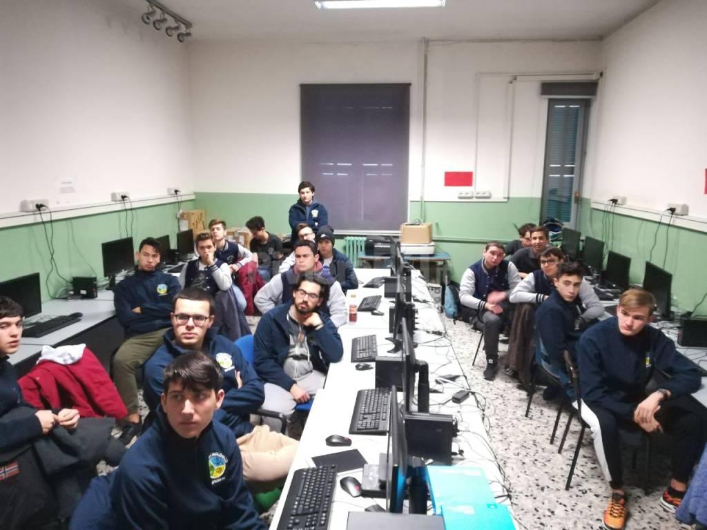 studenti polo tecnologico