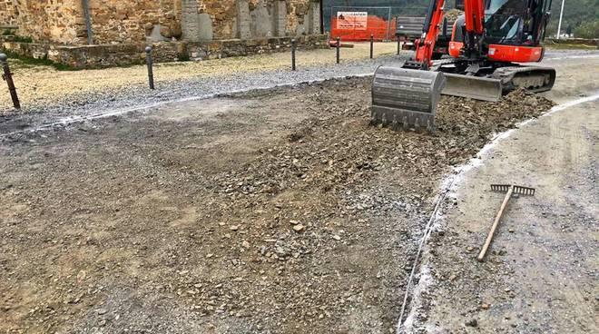 lavori in corso santuario montegrazie
